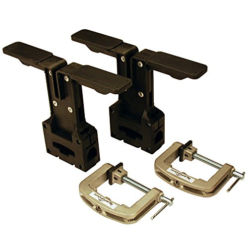 Tools4Boards TUNING VISES Ski and Snowboard Vise, Black by Tools4Boards