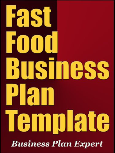 Amazoncom Fast Food Business Plan Template EBook Business Plan - Fast food business plan template