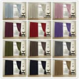 COFTY Beige - 72Wx84L Inch (1 Panel) Classic Solid Thermal Insulated Blackout Curtain Panel Drapes - Pinch Pleat Top - For Bedroom | Living Room | Club | Restaurant