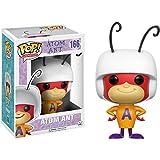 Atom Ant: Funko POP! x Hanna-Barbera Vinyl Figure + 1 FREE American Cartoon Themed Trading Card Bundle (118545)