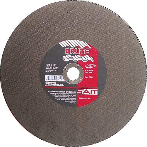 United Abrasives 14 X 1//8 X 1 Brute 23452
