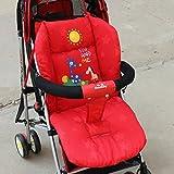 Edealing Poussette Coussin panier Seat Pad Poussette coton épais tapis d'auto pour bébé