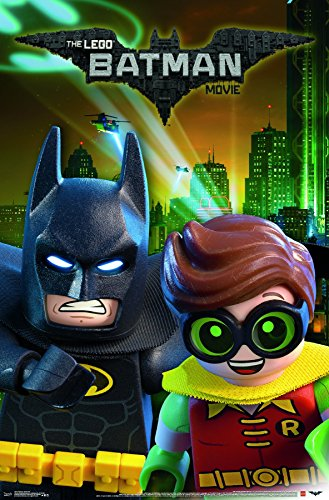Trends International LEGO Batman & Robin Wall Poster 22.375""