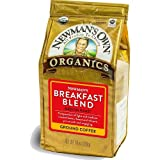 Newman's Own Organics Breakfast Blend, Ground, 10 Ounce Bag