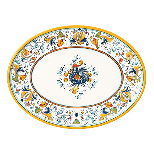 Rooster Serving Platter - Florence Rooster 16