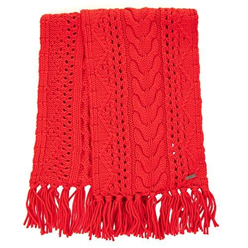 Sciarpa Wwacc1406ac935455 Lana Donna Rosso Woolrich UZqzvZ