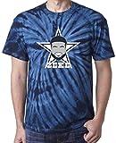 "The Silo TIE DIE NAVY Dallas Zeke ""FACE"" T-Shirt"
