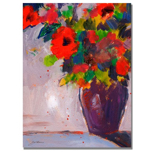 Fiesta II by Sheila Golden, 24x32 inches Canvas Wall Art