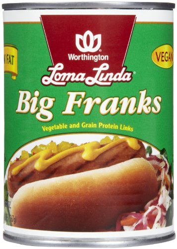 Loma Linda Low Fat Big Franks-20 oz (Low Fat Sausage)