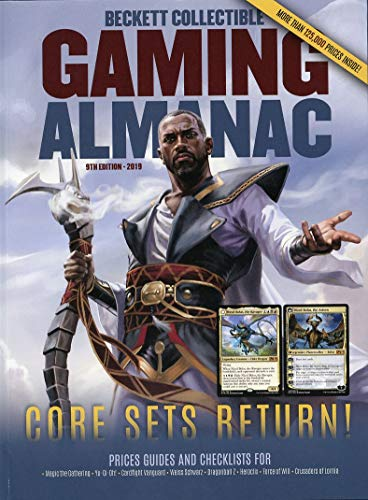 2019 Beckett Collectible Gaming Almanac 9th Edition Annual Card Price Guide - Magic, Pokemon, Yu-Gi-Oh & more