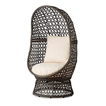 Resin Wicker Swivel Chair