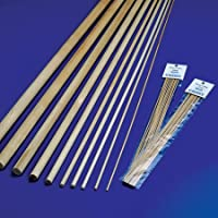 Midwest Birch Wood Dowels 1/16 in. x 12 in. pack of 10
