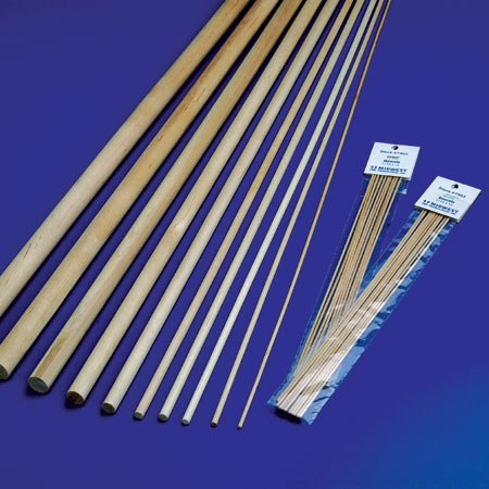 Wood Dowels 1/8 x 36'' (45) by Midwest Products Co.