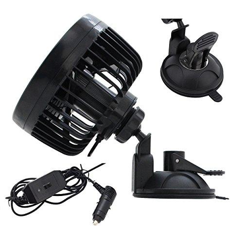 51d9TCdMD6L Compass Mitchell Ventilator, Autoventilator mit Saugnapf, Gebläse Klimaanlage Fan/Fans, klein/Mini Ventilatoren, KFZ…
