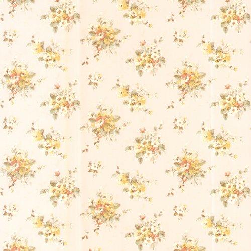 brewster-413-66312-elaine-floral-bouquet-wallpaper-yellow