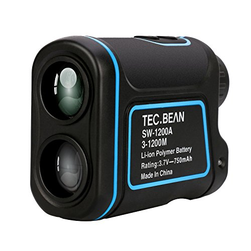 TEC BEAN Laser Rangefinder 1300 Yards 7X with Distance, Height, Speed and Angle Measurement for Golf and Hunting, USB charging AW-1200 by TEC.BEAN