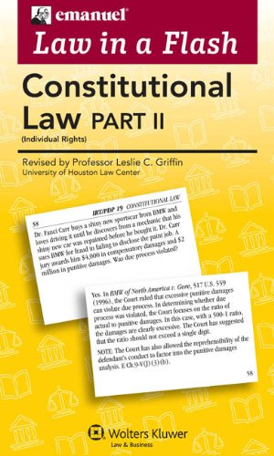 Law In A Flash Cards: Constitutional Law II