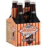 Stewart's Fountain Classics Soda 12 Fl Oz 4 Ct (Pack of 2) (Diet Root Beer)