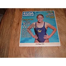Natalie Coughlin, Olympic Swimmer-USA Weekend magazine, August 22-24, 2003 issue-2004 Olympic Preview Issue.