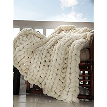 chunky throw blanket home kitchen. Black Bedroom Furniture Sets. Home Design Ideas
