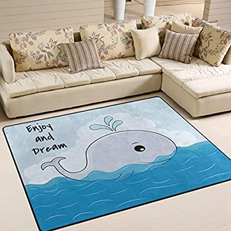 51d9VFrO7ZL._SS450_ Whale Rugs and Whale Area Rugs