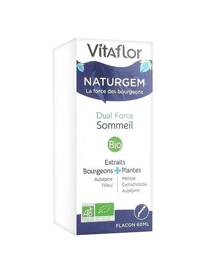 Vitaflor naturgem Dual Force sueño Bio 60 ml