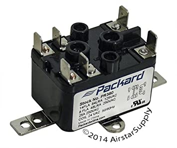 nordyne 90 380 replacement heavy duty switching fan relay spst 1 rh amazon com 5 Pole Relay Wiring Diagram Electrical Relay Wiring Diagram
