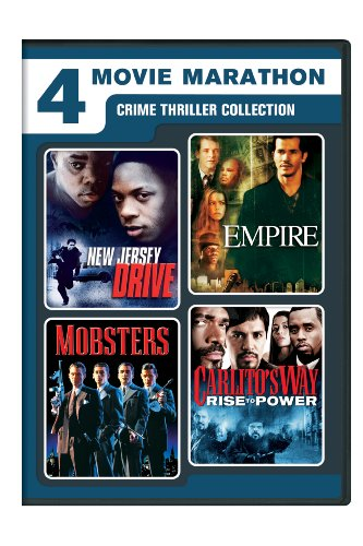 4 Movie Marathon: Crime Thriller Collection (New Jersey Drive / Empire / Mobsters / Carlito's Way: Rise to Power) (Carlitos Way Dvd)