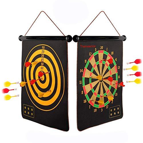 "Themoemoe Magnetic Dart Board Sets- 15"" Dartboard"