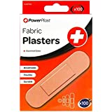 4 x Assorted Sizes Adhesive Fabric Plasters - - Medical Supplies, First Aid Kit by HOMEssentials