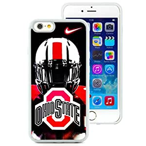 Beautiful And Unique Designed Case For iPhone 6 4.7 Inch TPU With Ncaa Big Ten Conference Football Ohio State Buckeyes 46 (2) Phone Case