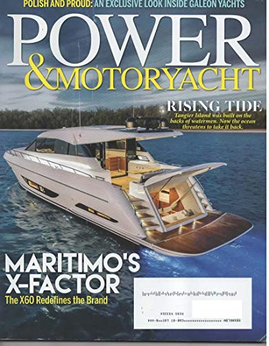 Power & Motor Yacht Magazine, November 2018 (Vol 34, No 11)