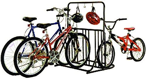 gearup 6-Bike Rack and Accessory Bar, Black