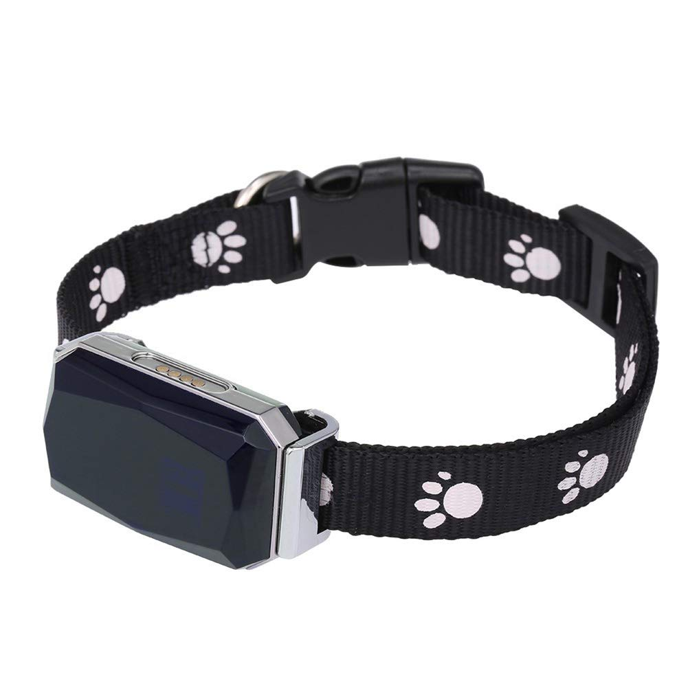 MUJING IP67 Waterproof Pet Collar GSM AGPS WiFi LBS Mini Light GPS Tracker for Pets Dogs Cats Sheep by MUJING