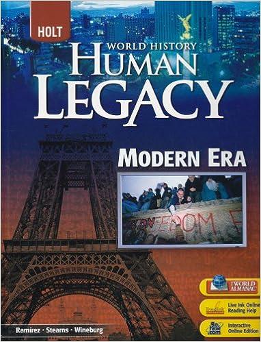 Amazon world history human legacy student edition 2008 world history human legacy student edition 2008 1st edition fandeluxe Images