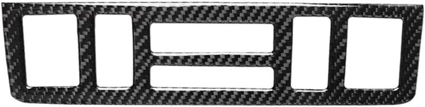 1998-2005 Instrument i Fesjoy Cadre de garniture de contr/ôle central de garniture de contr/ôle dinstrument de tableau de bord dinstrument int/érieur en fibre de carbone pour BMW S/érie 3 E46
