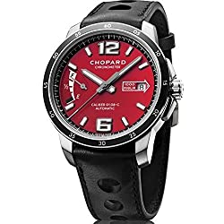 Chopard 168566-3002 Mille Miglia Automatic Mens Watch - Red Dial