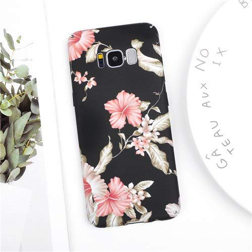 Maxlight Fashion Vintage Flower Cases for Samsung Galaxy S8 S9 Plus Note 8 Note 9 Floral PC Hard Protective Phone Back Cover Coque Gift (Style 2, for Galaxy S8) (Samsung Galaxy S2 Plus Back Cover)