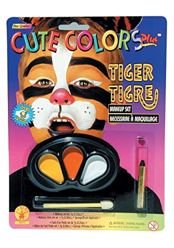 Rubie's Costume Co Cute Colors Tiger Makeup