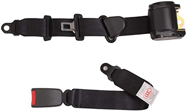LIKEFLY Three-Point Car Seat Belt Automatic Retractable Seat Belt Belt Installation and Use