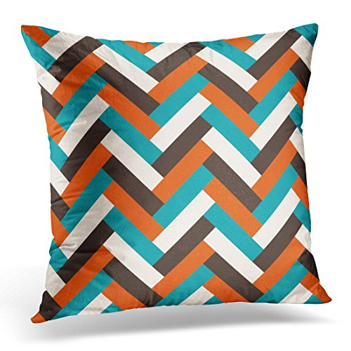 Golee Throw Pillow Cover Modern Abstract Geometric Mid Century Style Pattern Artistic Classic Decorative Pillow Case Home Decor Square Pillowcase 51d9Y2D6MzL