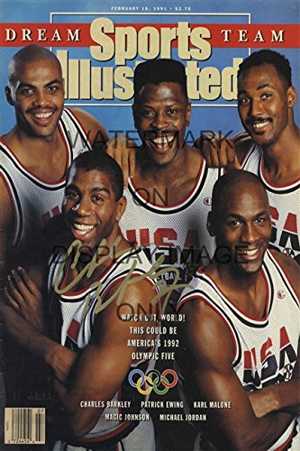 1992 Dream Team Sports Illustrated Autograph Poster (Team Poster)