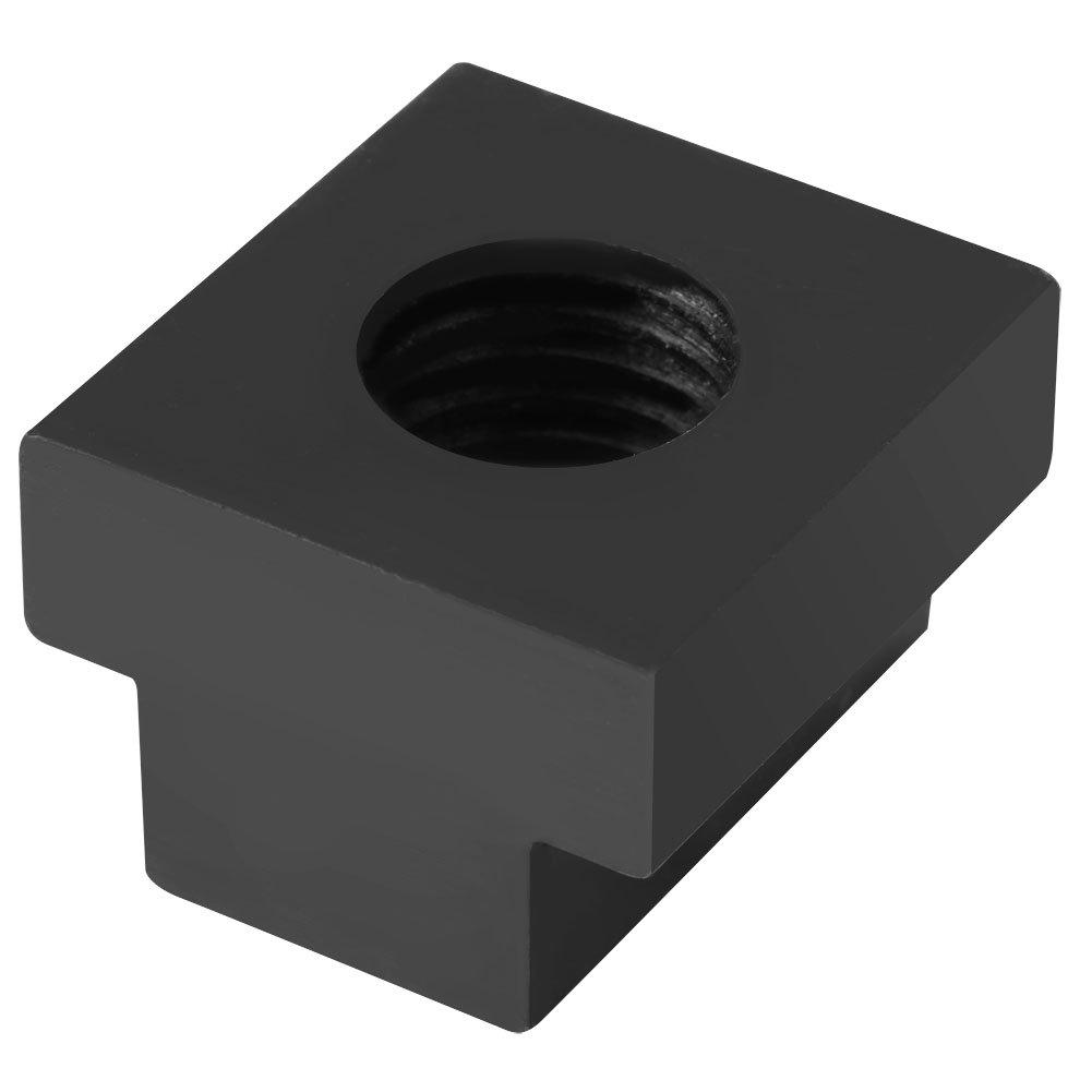 M-16-Gewinde verwendet in Werkzeugmaschinen-Werkb/änken hochwertige oberfl/ächenbehandelte Mutter aus 45-Stahl-Schwarzoxid 5-teilige T-Nut-Mutter