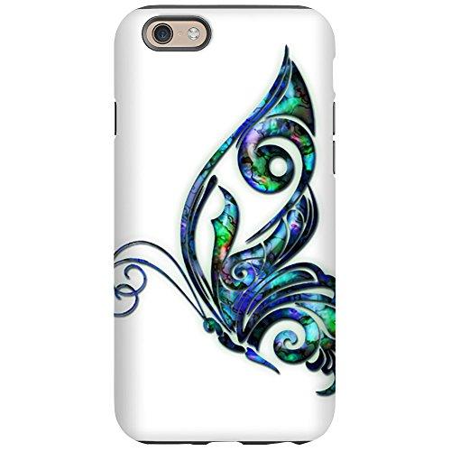 (CafePress - Abalone Shell Art Deco Butterf iPhone 6 Tough Case - iPhone 6/6s Phone Case, Tough Phone)