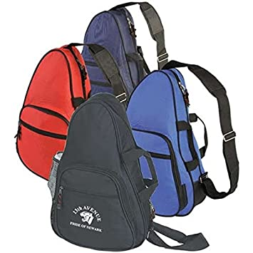 Amazon com: Promotional Personalized Sling Backpack with