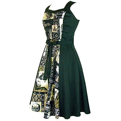 Hemet Women's Edgar Allen Poe Inspired Full Circle Dress