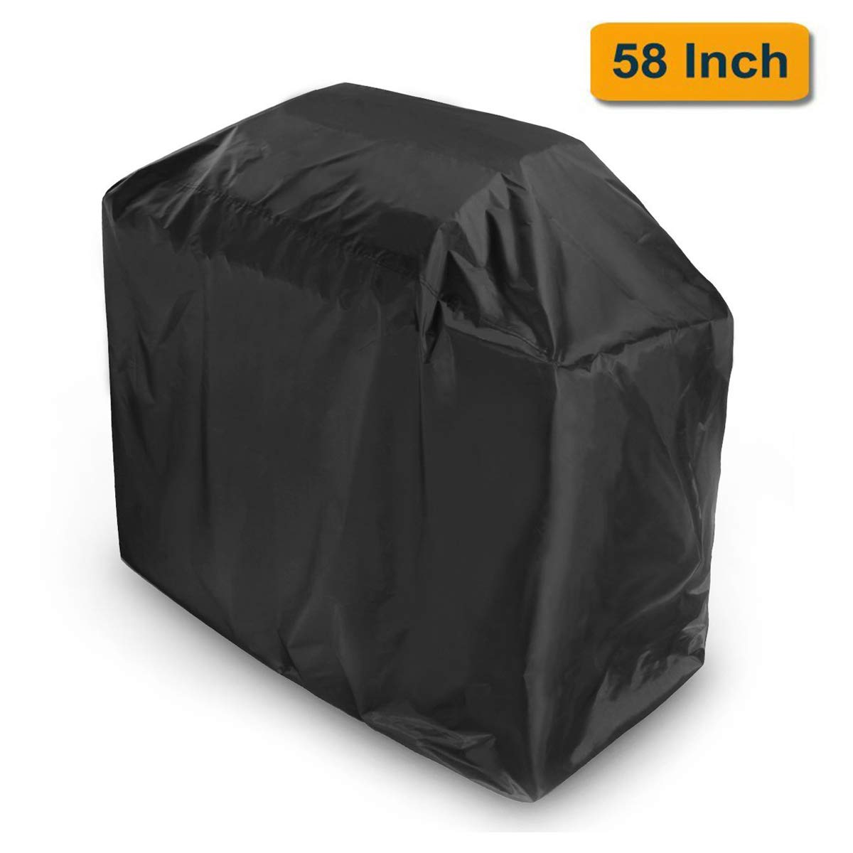 OUTDOOR DOIT Grill Cover 58 Inch, BBQ Cover, Heavy Duty Waterproof UV Protected Crack Resistant, Light Weight Easy Folding for Outdoor Most Brands Grill, Weber, Kenmore by OUTDOOR DOIT