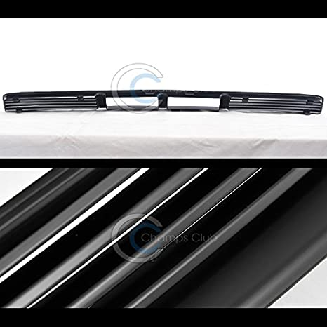 S/&T Racing Matte Black Horizontal Gt-Sport Front Lower Bumper Grill Grille 05-09 Mustang V6 MPN FO1200421