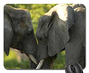 Advice Mouse Pad, Mousepad (Elephants Mouse Pad) by Pearl Mousepad