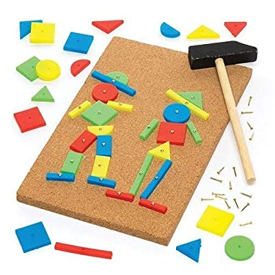 Baker Ross AR298 Tap a Picture Art Kit for Children - Ideal Craft Activities Supplies Set, 22cm, Assorted: Arts, Crafts & Sewing